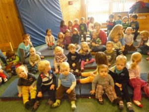 Aufführung im Kindergarten