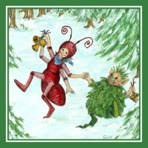 Der kleine grüne Kobolt und das grosse Fest